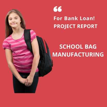 School Bag Manufacturing Project Report for Bank Loan