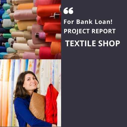 Textile Shop project report